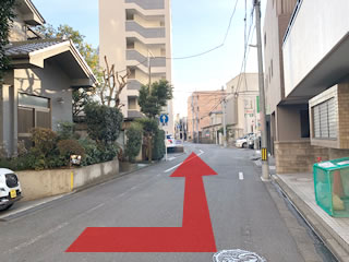道順の案内図8