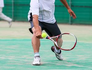 テニス肘の写真
